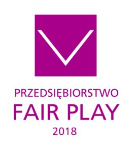 Logo programu przedsiębiorstwo Fair Play.